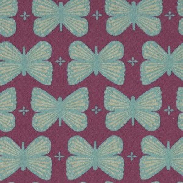 Schmetterling fuchsia by Kokka
