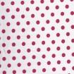 Polka Dots Pink auf Weiß