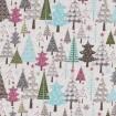 Weihnachtswald von RIley Blake Blau