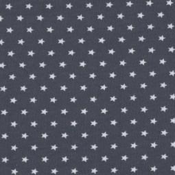 Jersey Sterne, weiße Stern auf Anthrazit