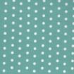 weiße Punkte auf Celadon, beschichteter Baumwollstoff,