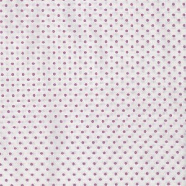 Lilane mini Punkten auf weiß