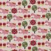 Canvas Trefle von Kokka in rosa