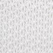 Baumwoll Stickerei weiße Margerite