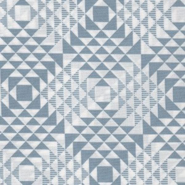 Pyramids Atrium Blue - Joel Dewberry by Free Spirit