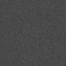 Bündchen meliert dunkel grau