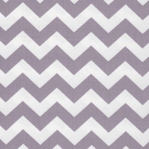 Canvas Chevron hell-lila
