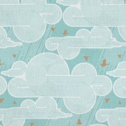 Atrium Cumulus Mint - Joel Dewberry by Free Spirit