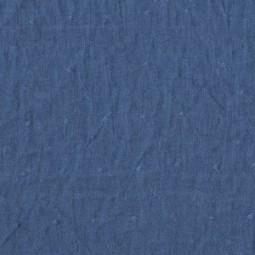 Leinen Plumetis Blau