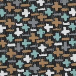 Jersey modernen Kreuzen senf