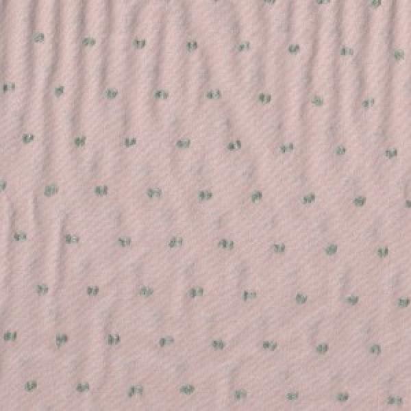Plumetis zweifarbig Rosa-grau