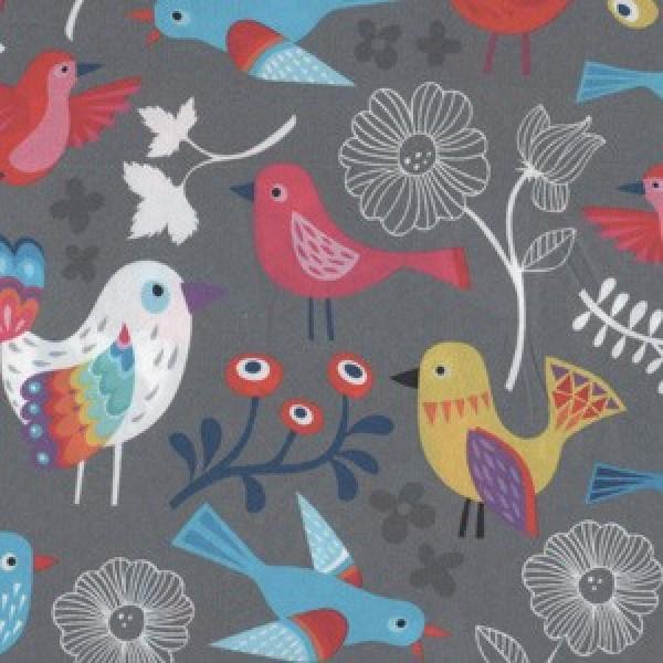 Early Birds von Hamburger Liebe Baumwolle 150 cm