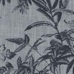 Flower prints on black