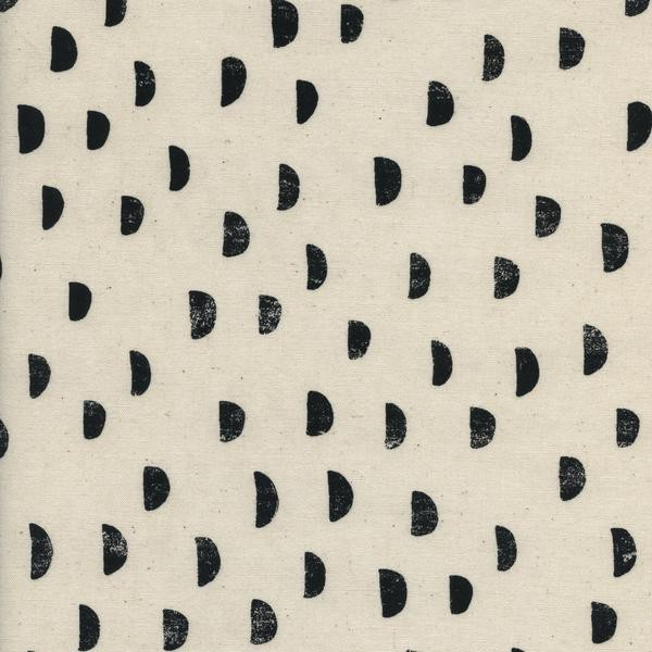 Measure twice cut once black and white - Printshop collection by Cotton + Steel
