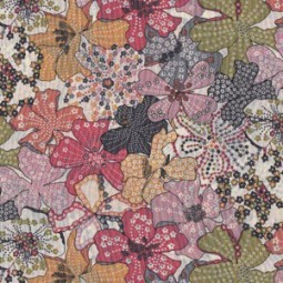Liberty Fabric, Mauvey Grau