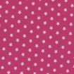 Kleine weiße Sterne auf Pink