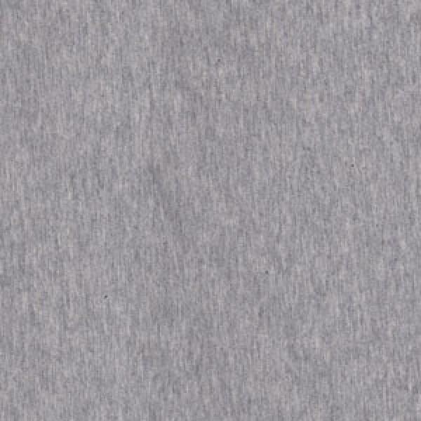 Jersey Uni Grau Meliert