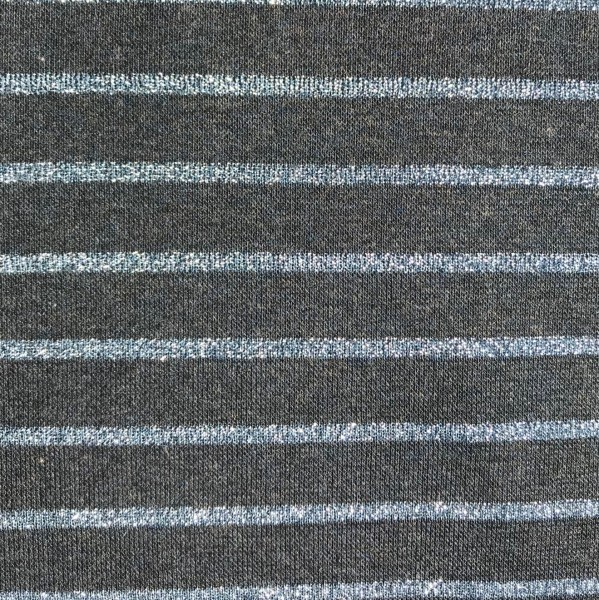 Lurex Stripes blau blau