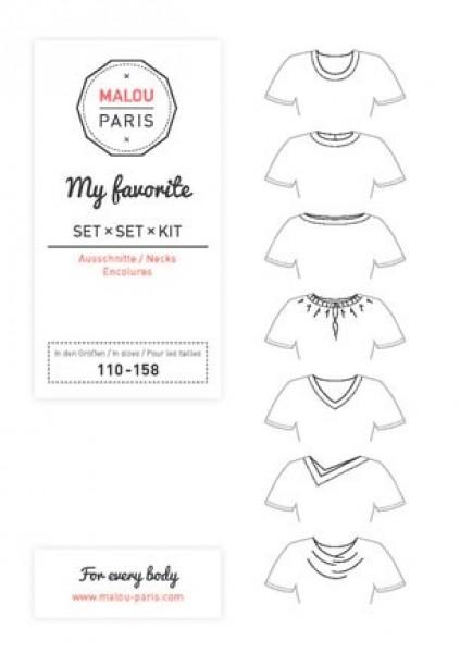 Halsausschnittset My Favorite Kid by Malou Paris