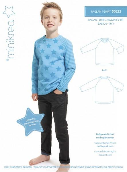 T-Shirt Raglan 0-10 Jahre