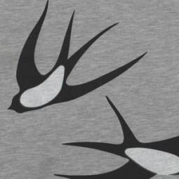 Jersey graue Schwalben