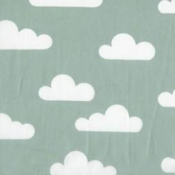 Wolken Türkis Mint