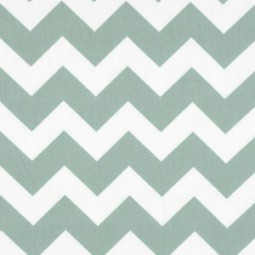 Chevron Türkis Mint