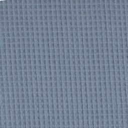 WaffelStoff gesteppt Blau