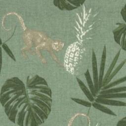 Ananas, Affen und Palmen