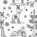 WeihnachtsMotiven zum Annmalen
