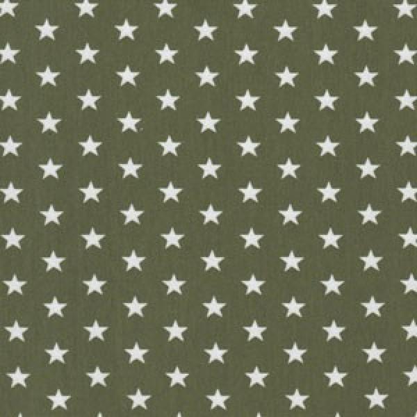 Jersey Sterne weiß auf grün