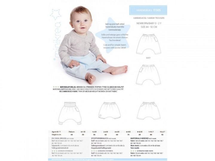 Haremshose für Babys 0-2 Jahre