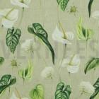 Canvas Blumen und Blätter tropic