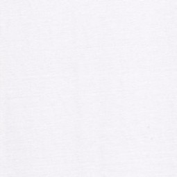 Jersey uni weiß
