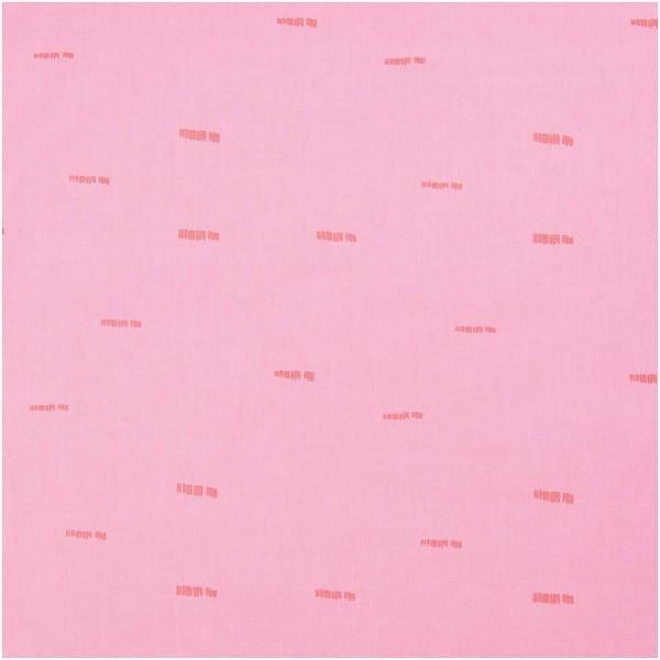 Baumwolle rosa neon Streifen