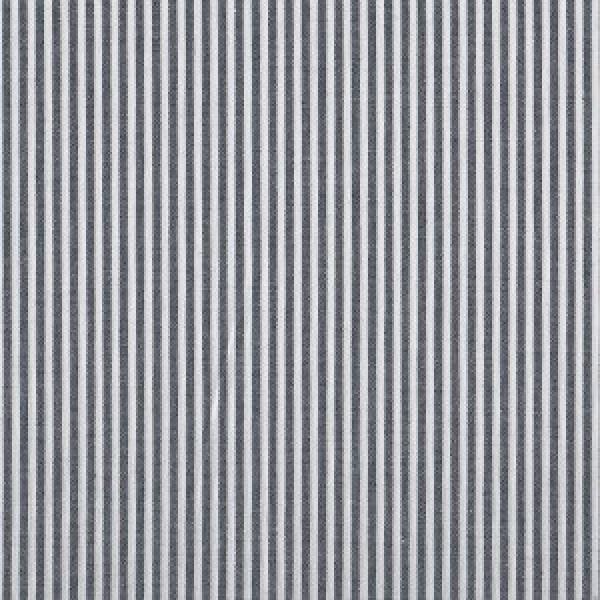 Streifen schwarz meliert und weiß