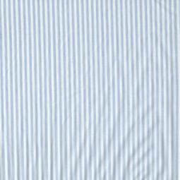 Streifen hellblau und weiß