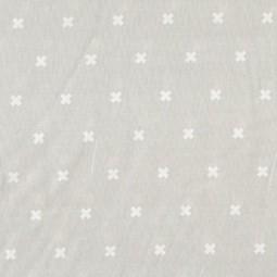 XOXO hell grau by Cotton + Steel