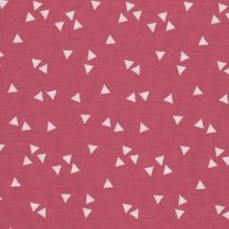 Popelin Dreieck Pink