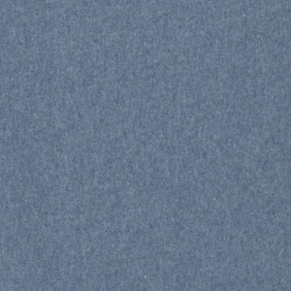 Bündchen meliert blau