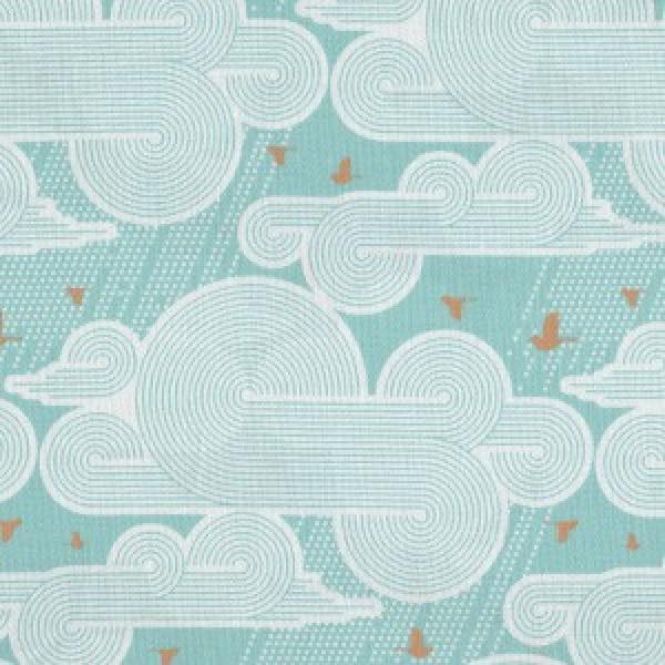 Atrium Cumulus Mint - Joel Dewberry by Free Spirit