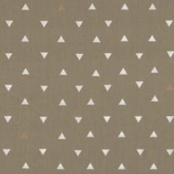 Triangle Tokens Gold Ocker Metallic – Observer by Art Gallery