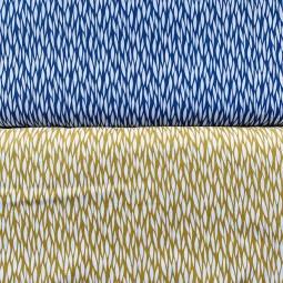 Muster in blau