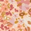 Baumwolle Terrakotta Blumen