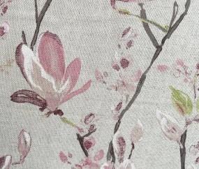 Canvas Blumen Magnolie 280cm breit