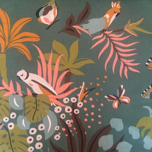 Baumwolle tropic birds