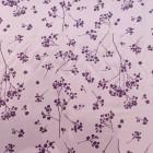 Viskose fliederfarben mauve geblümt