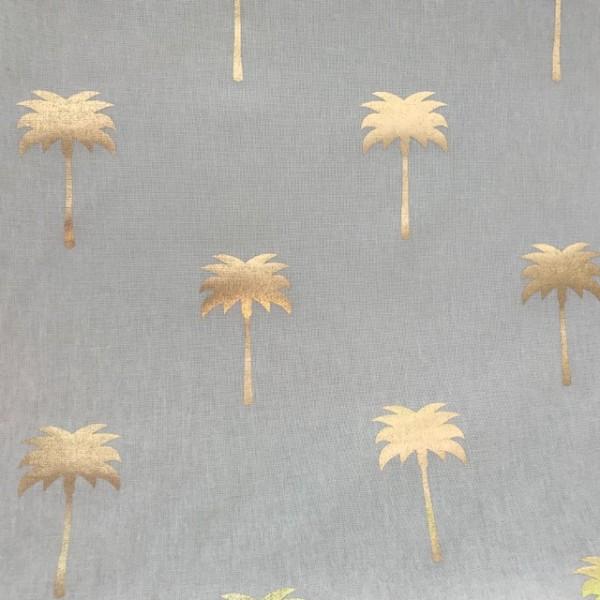 Goldene Palmen Weiß