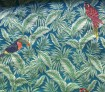 Jacquard Tropical Blau