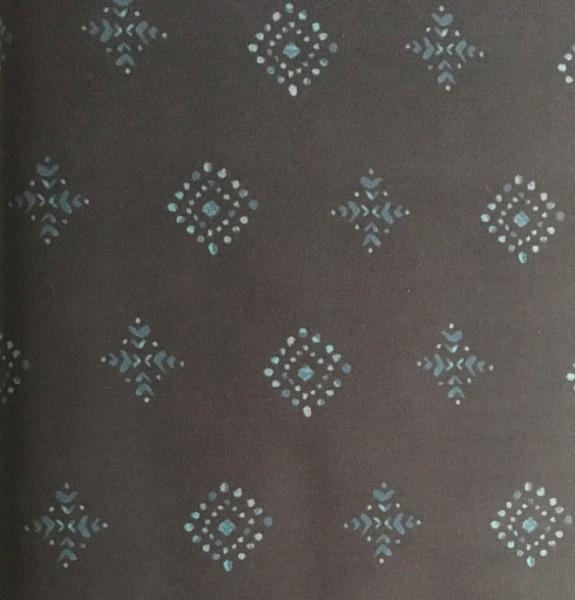 Baumwolle AGF dunkelblau Blumen